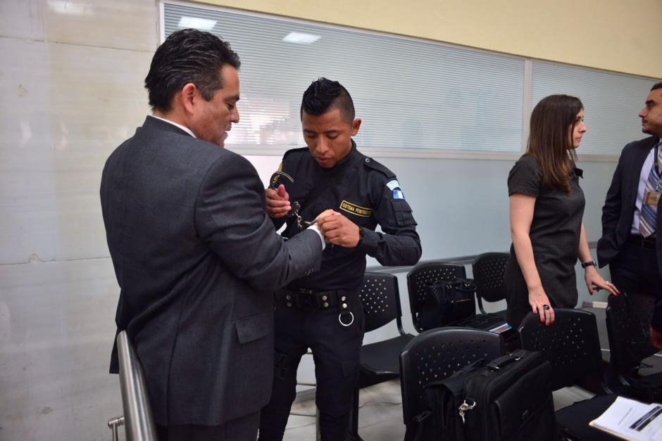 Edgar Cristiani, exdiputado del PP, se encuentra implicado en el caso de Plazas Fantasmas. (Foto: Jesús Alfonso/Soy502)