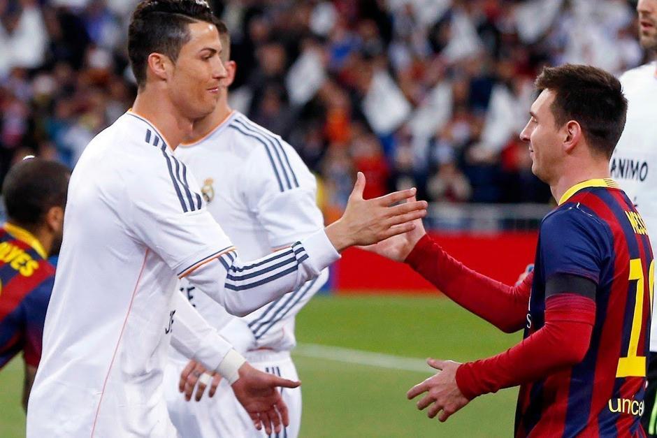 Cristiano y Messi son rivales en la cancha y en la vida privada no tienen ningún contacto cercano pero a pesar de eso no son enemigos
