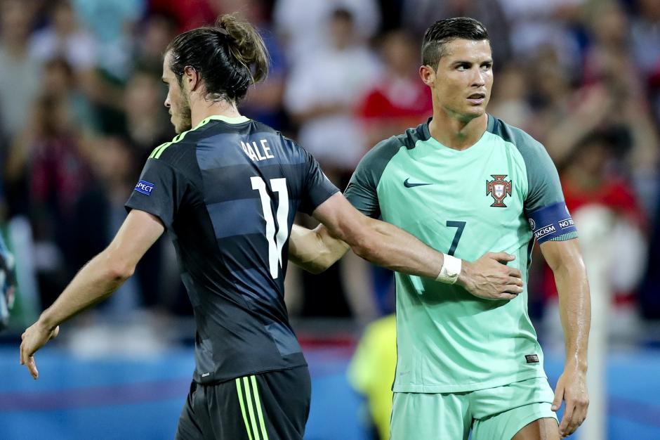CR7 y Bale juegan actualmente en el Real Madrid. (Foto: EFE)