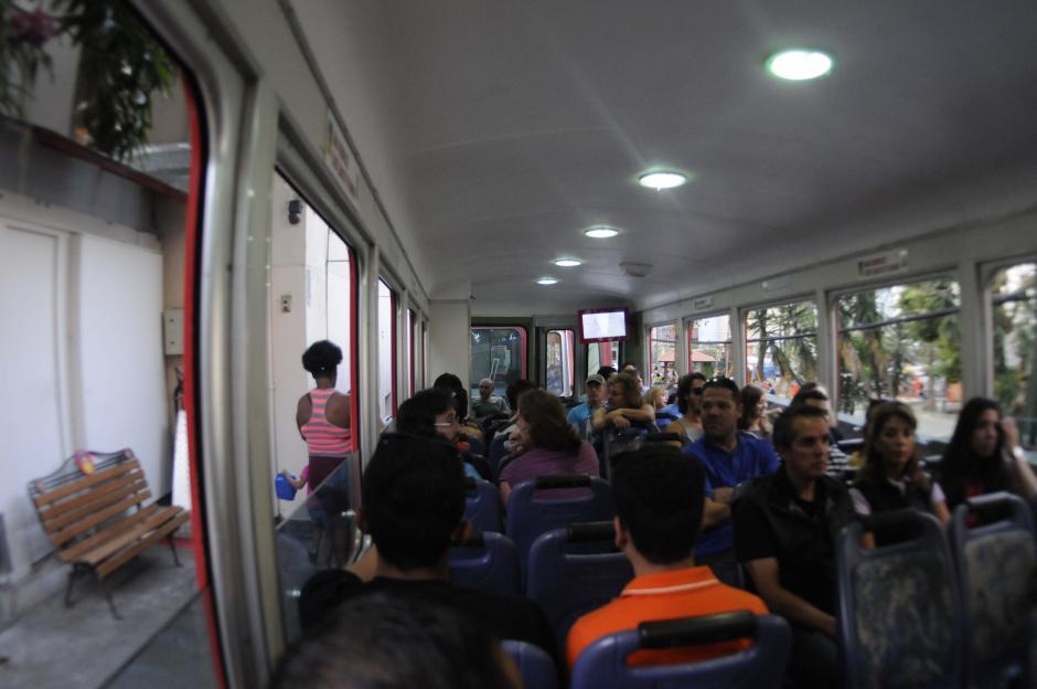 En este tren se sube el Cerro del Corcovado para llegar a los pies del Cristo Redentor. (Foto: Pedro Pablo Mijangos/Soy502)