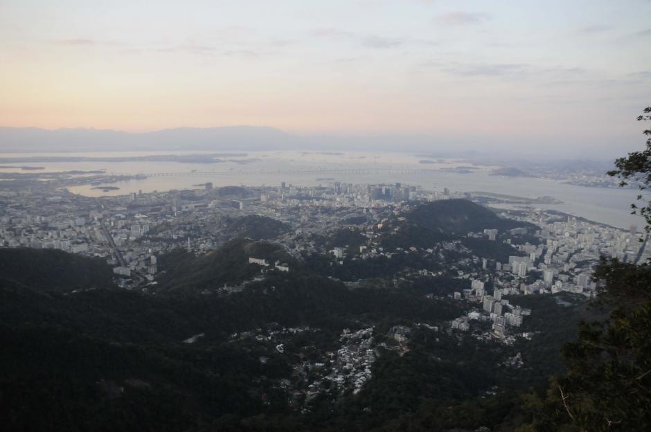Esta es una de las partes de la ciudad de Río que se aprecia desde el Cerro de Corcovado. (Foto: Pedro Pablo Mijangos/Soy502)