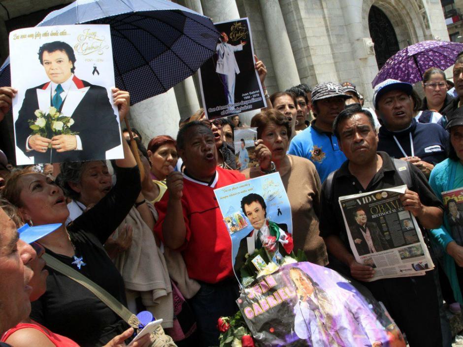 La muerte de Juan Gabriel tocó al pueblo mexicano. (Foto: Twitter)