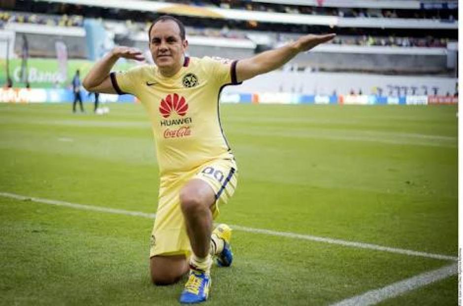 Cuauhtémoc Blanco es el futbolista más aclamado en los últimos tiempos en México. (Foto: Twitter)