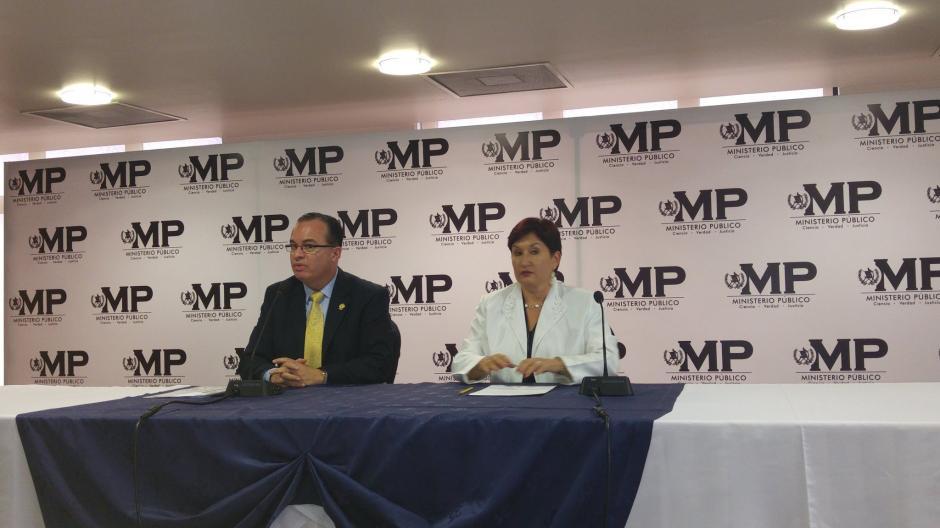 Mario Méndez Montenegro presentó la denuncia al MP. (Foto: MP)