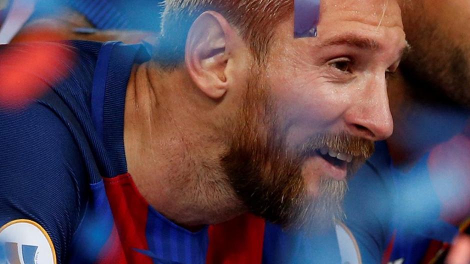 Leonel Messi podrá retirarse el Barcelona cuando él lo decida. (Foto: EFE)