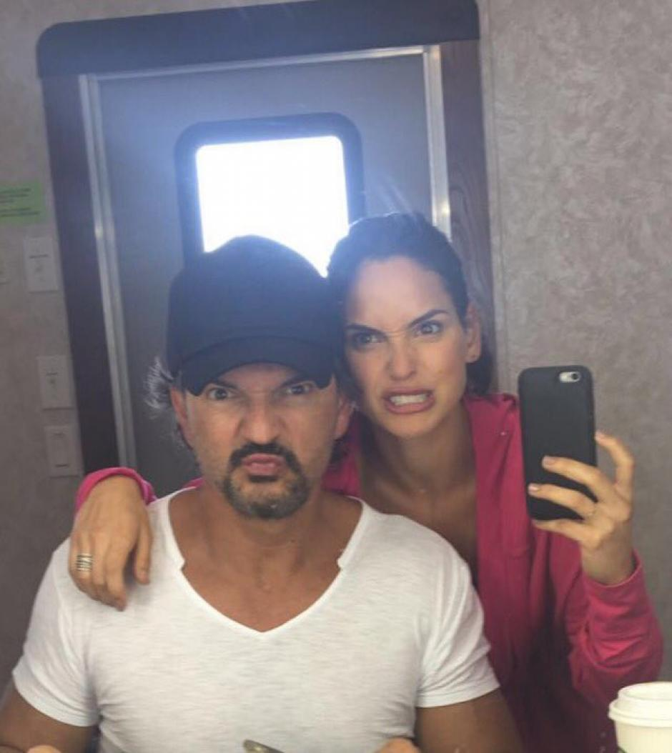 Otra de las fotos compartidas por Ricardo Arjona junto a su hija Adria. (Foto: Ricardo Arjona)