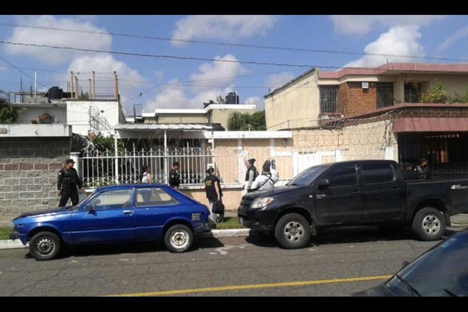Otra casa en la zona 5 que también le fue embargada. (Foto: Archivo/Soy502)