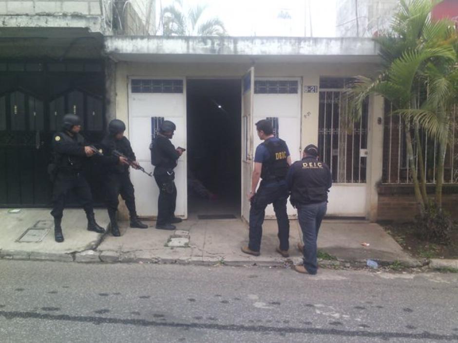 """Continúan los operativos para capturar a los integrantes de la banda de tráfico internacional de droga """"Los Transportistas"""". (Foto: Policía Nacional Civil)"""