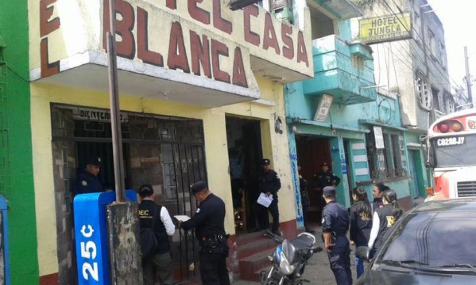 Fiscales del Ministerio Público realizaron operativos contra la Trata de Personas en la zona 4 capitalina. (Foto: Policía Nacional Civil)
