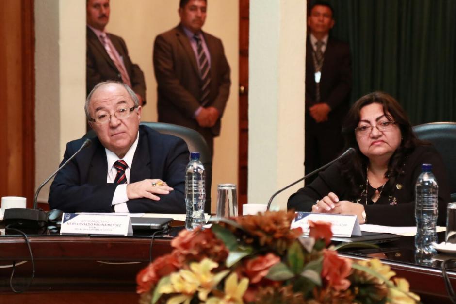 Luego de la votación los magistrados realizaron reflexiones sobre el proceso. (Foto: Alejandro Balan/Soy502)