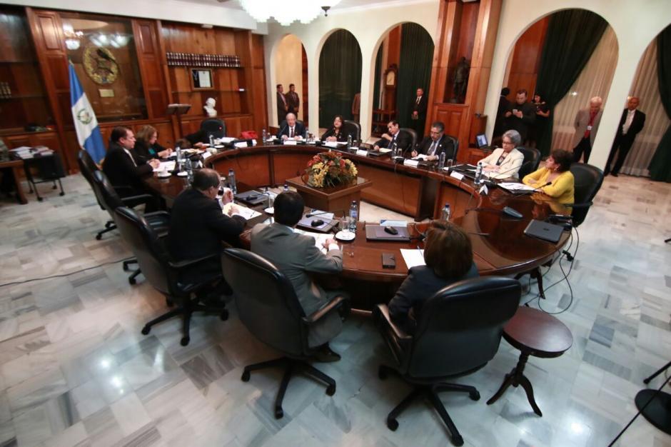Sin acuerdos finalizó la reunión de este lunes. (Foto: Alejandro Balan/Soy502)