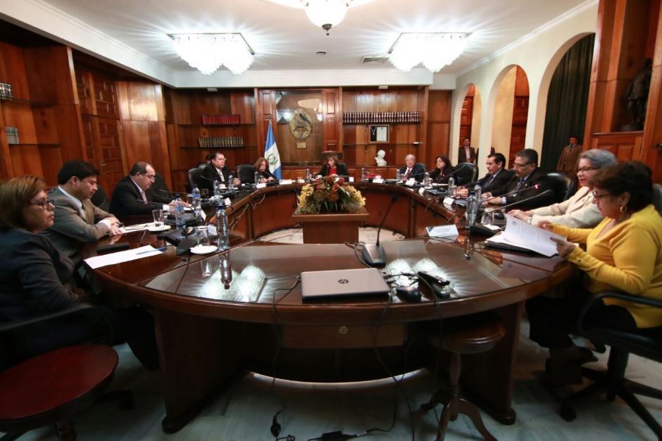 Una nueva plenaria para elegir presidente del OJ sin consenso. (Foto: Alejandro Balan/Soy502)