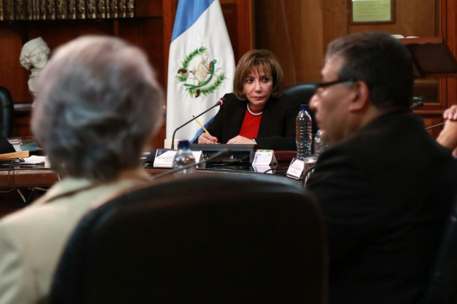 Magistrada Silvia Valdés convocó para este martes a las 17 horas. (Foto: Alejandro Balan/Soy502)
