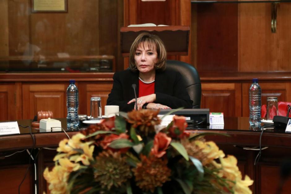 Mientras tanto Silvia Valdés continúa como presidenta en funciones del OJ. (Foto: Alejandro Balan/Soy502)
