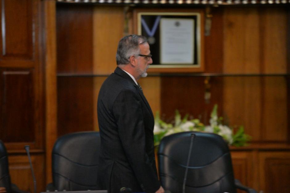 Al evento también llegó el titular de la CICIG, Iván Velásquez. (Foto: Wilder López/Soy502)