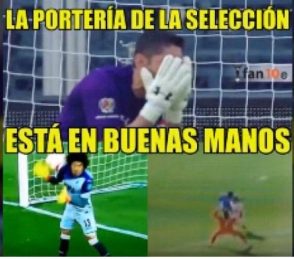 En México también se recordaron de sus porteros de Selección. (Foto: Twitter)