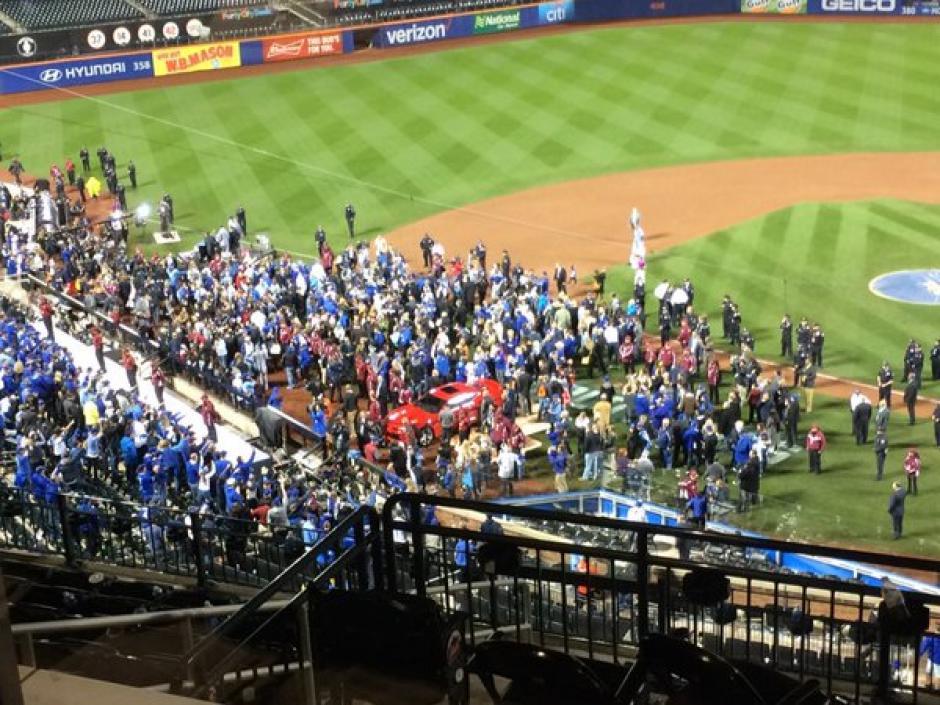 Los Reales de Kansas Citiy ganaron la Serie Mundial a domicilio en el Citi Field de los Mets. (Foto: Twitter)