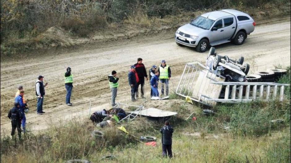 El saldo fue de un fallecido y un herido grave. (Foto: Captura de video)