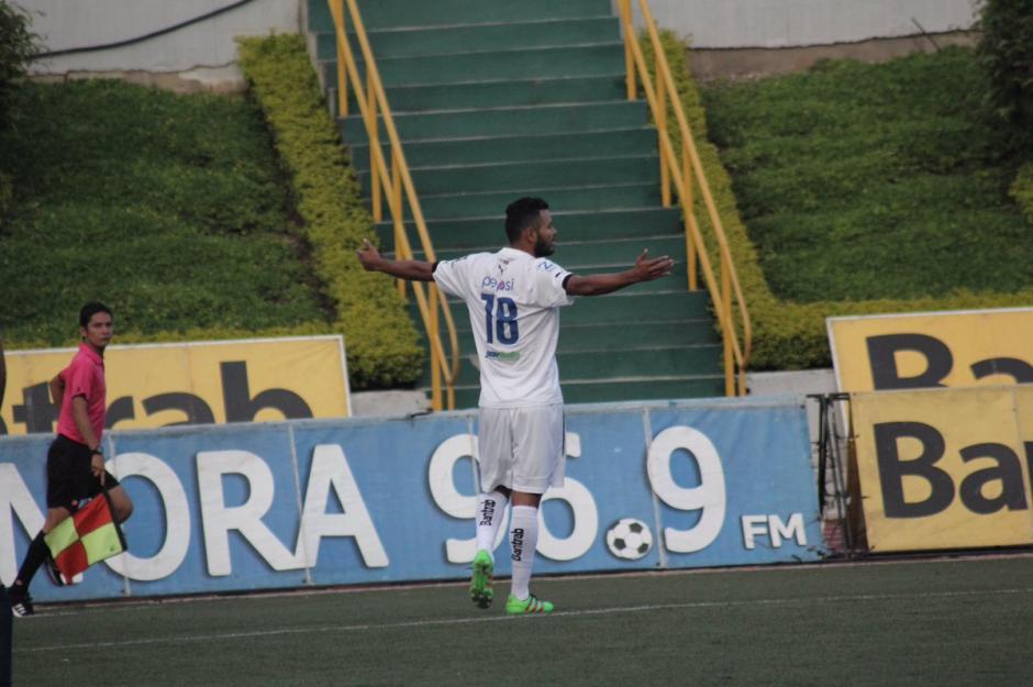 Después de seis años Edgar Chinchilla regresó a Comunicaciones y anotó. (Foto: página oficial de Comunicaciones)