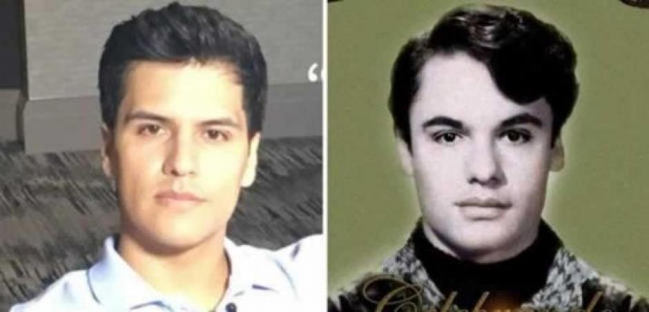 El parecido de Luis Alberto Aguilera con Juan Gabriel es asombroso. (Foto: Twitter)