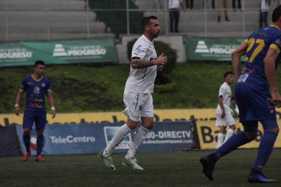 Emiliano López volvió a la actividad luego de superar una lesión. (Foto: Página oficial de Comunicaciones)