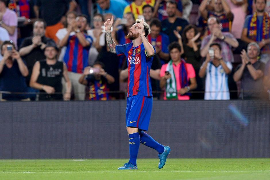 Messi espera renovar pronto con el FC Barcelona. (Foto: Twitter)