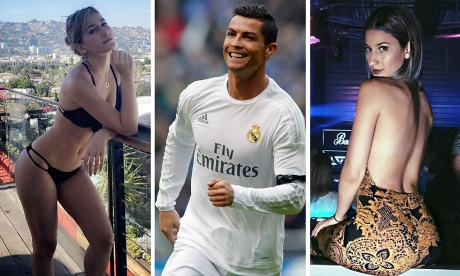 Cristiano Ronaldo se rinde al twerking de Lexy Panterra. (Foto: Twitter)