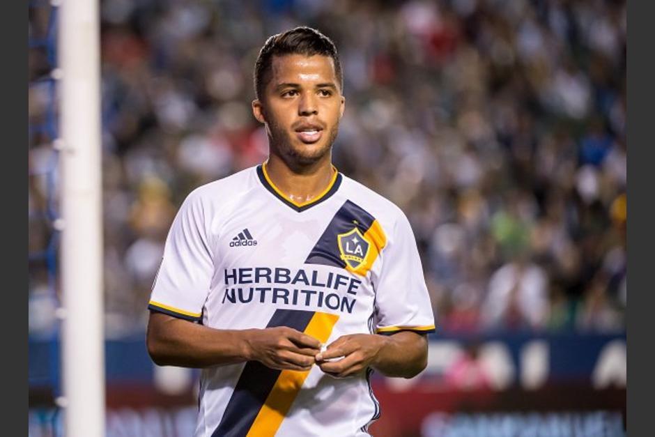 Gio dos Santos  juega para el galaxy de Los Ángeles en la MLS. (Foto: Twitter)