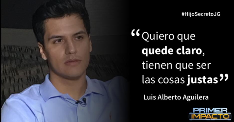 El hijo de Juan Gabriel habla en exclusiva con Univisión. (Foto: Primer Impacto)