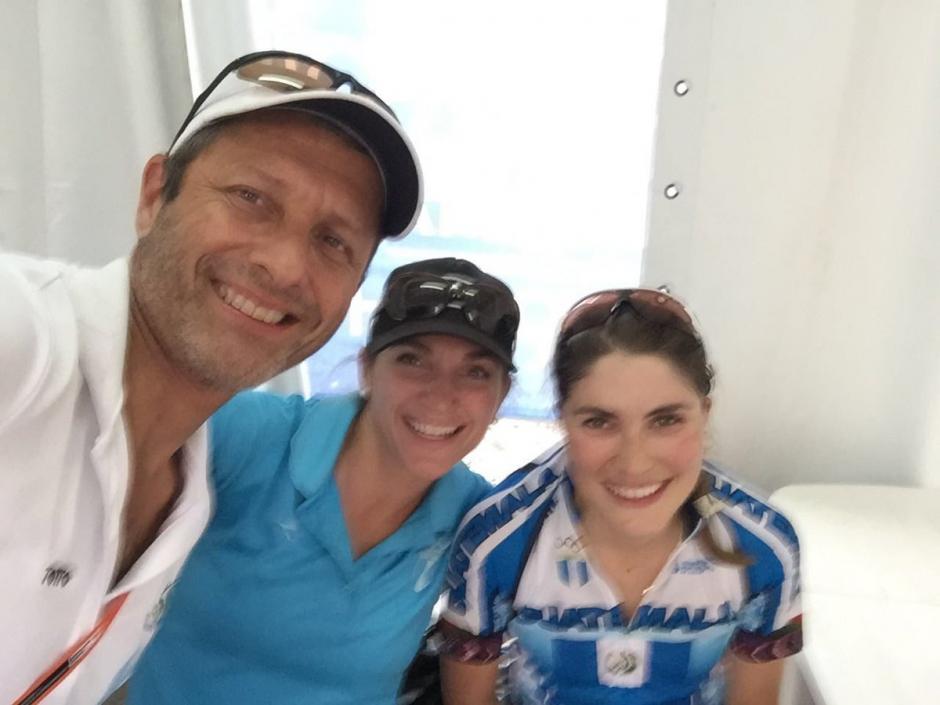 La pedalista guatemalteca fue la mejor de Latinoamérica. (Foto: COG)
