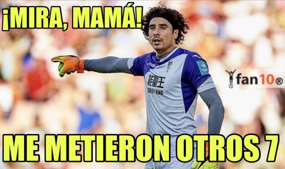 Ochoa ha recibido siete goles dos veces en este año. (Foto: Twitter)