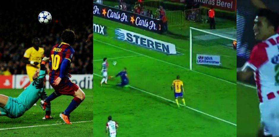 Golazo a lo Messi, esta vez en el fútbol mexicano. (Foto: captura de pantalla)
