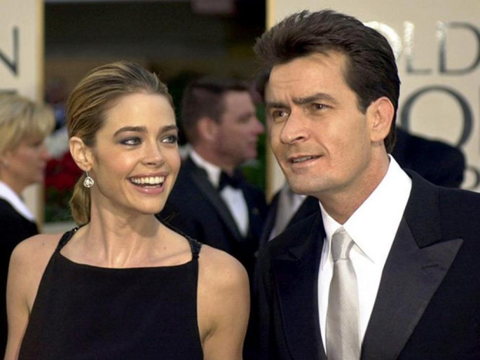 La exesposa de Charlie Sheen,Denise Richards, conocía el estado de salud de su expareja sentimental. (Foto Archivo:@Excelsior)