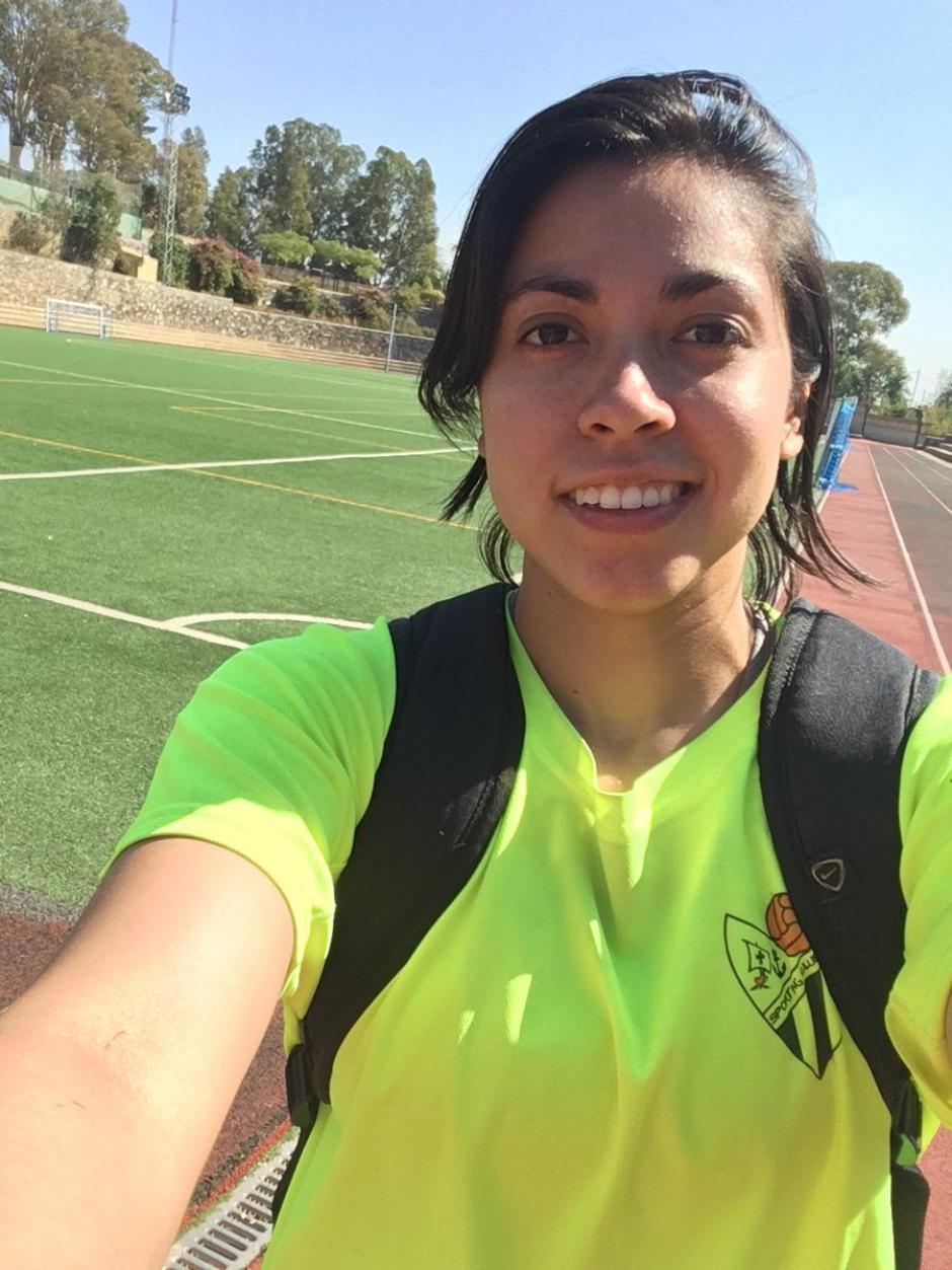 Ana Lucía ha jugado en tres equipos diferentes de España. (Foto: Facebook)