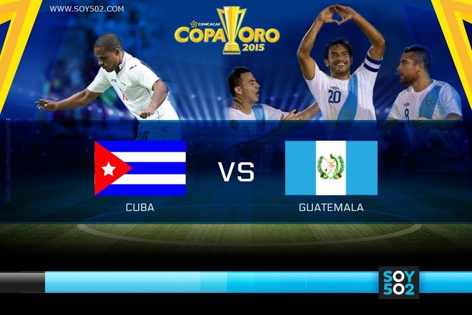 Cuba y Guatemala se enfrentarán por un boleto a cuartos de final de la Copa Oro 2015