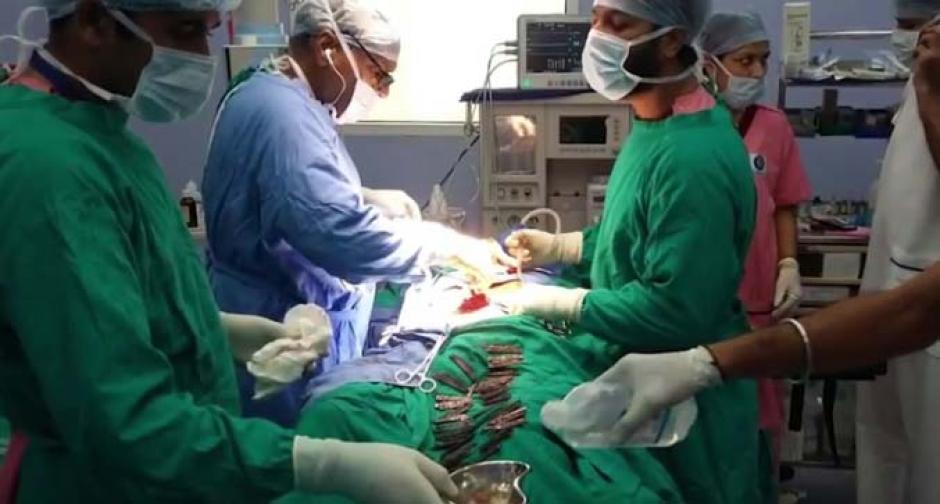 La operación duró un total de cinco horas. (Imagen: Captura de pantalla)