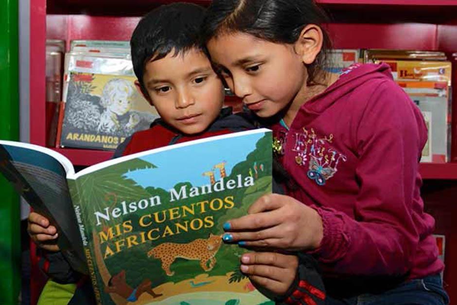 Los cuentos para niños son parte del gran legado que dejó Mandela para la humanidad