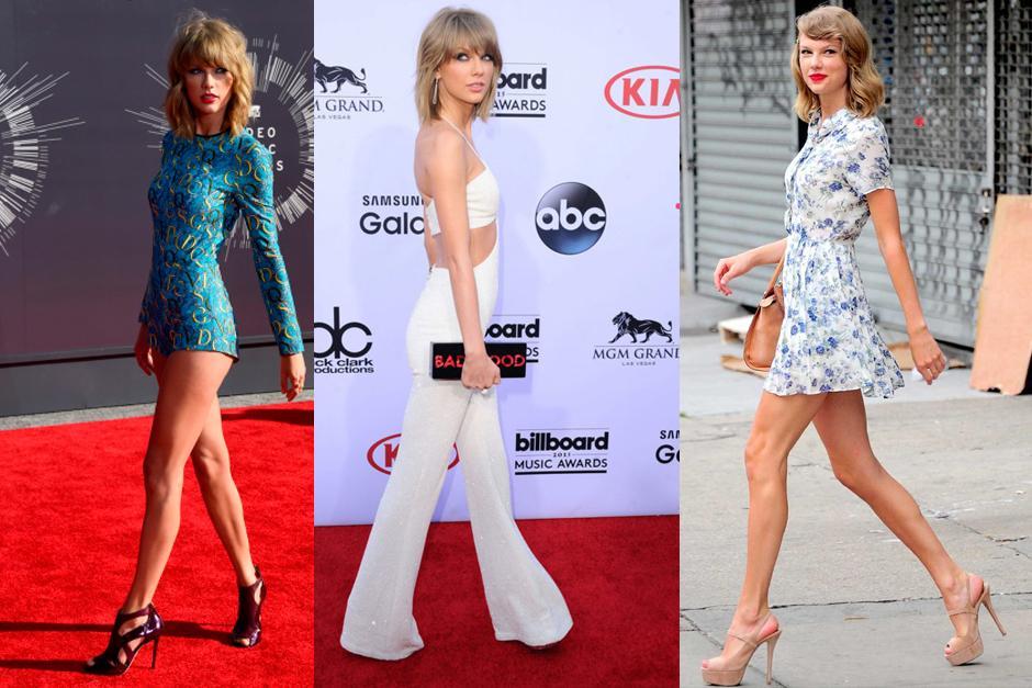 De unos meses para acá Taylor ha modificado su cuerpo. (Foto: Archivo)