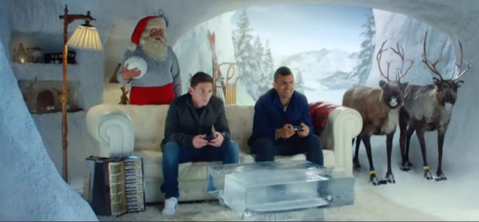Messi agüero fifa 16 video comercial