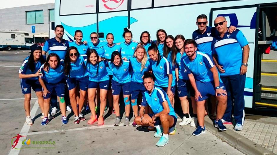 El Huelva marcha en la octava posición de la Liga femenina. (Foto: Twitter)