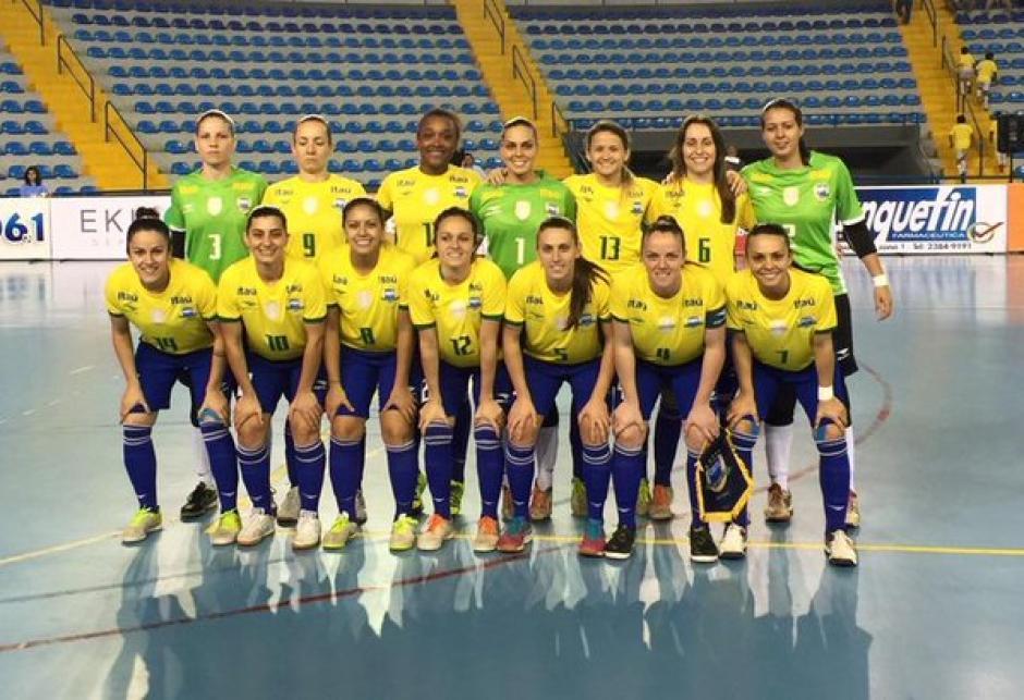 brasil femeino futsal foto