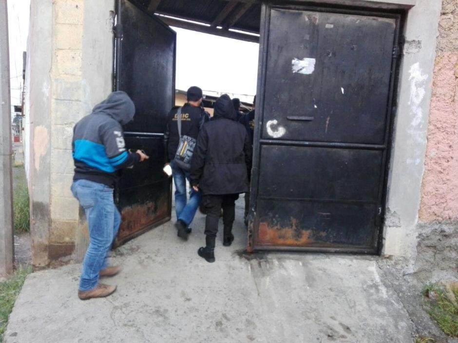 Se reporta la captura del presunto líder de esta clica del Barrio 18. (Foto: MP)