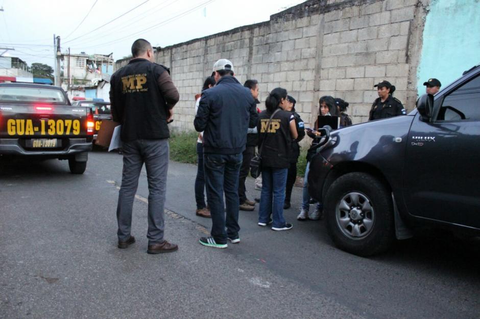 Las investigaciones señalan que los miembros de una clica en Santa Catarina Pinula fueron los autores materiales del bombazo en un bus de ese lugar. (Foto: MP)