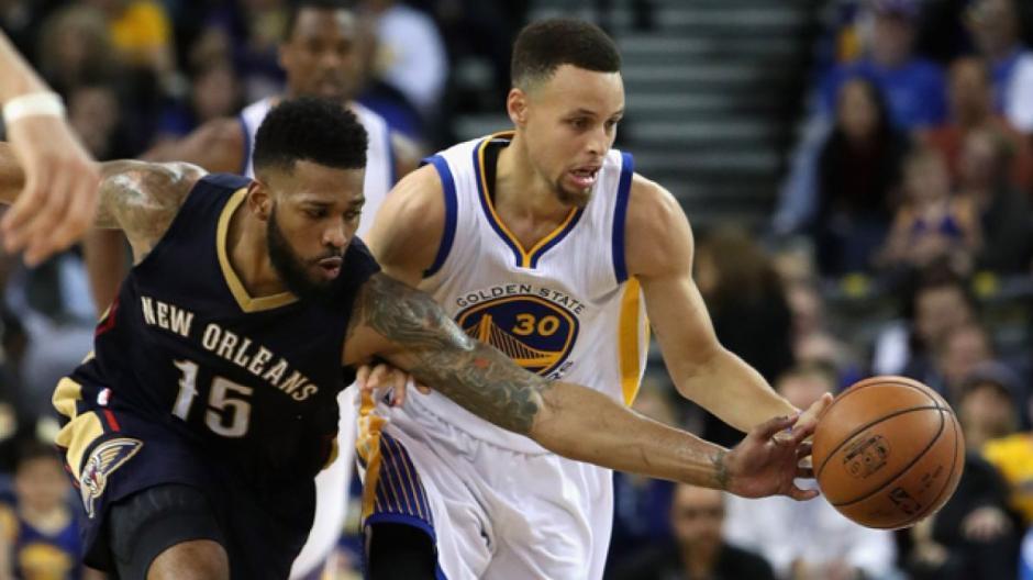 Curry es clave para los Warriors que buscarán seguir con vida en los playoffs. (Foto: AFP)