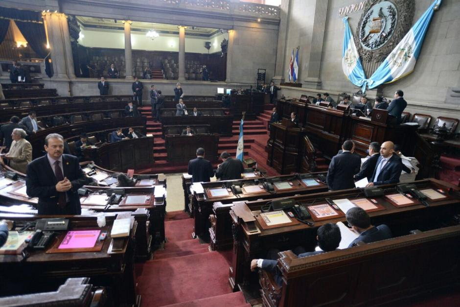 La mayoría de diputados no llegó a la sesión de este viernes. (Foto: Wilder López/Soy502)