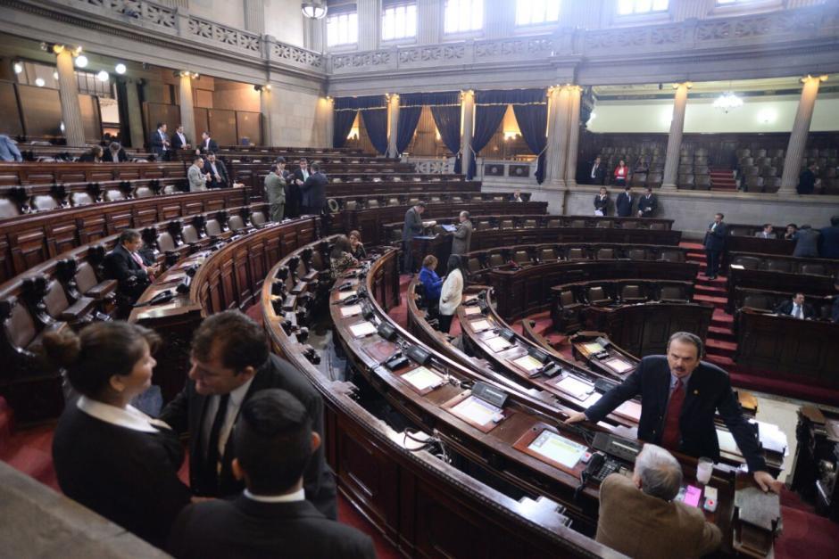 Únicamente 86 diputados asistieron a la sesión extraordinaria. (Foto: Wilder López/Soy502)