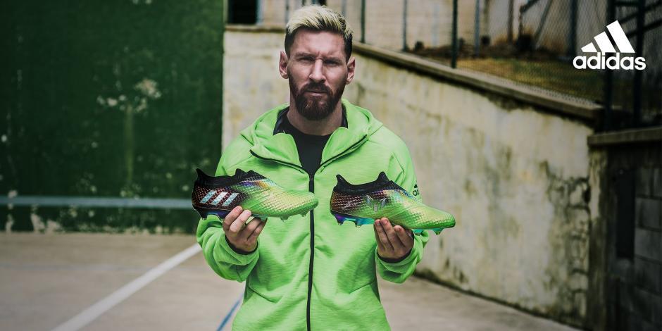 Los nuevos zapatos inspirados en Lionel Messi son de colección y pocos los podrán tener. (Foto: Adidas)