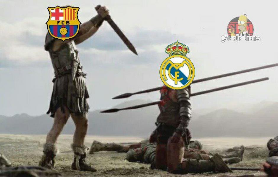 Resumen del primer tiempo del clásico entre Real Madrid vs Barcelona. (Foto: Twitter/@SoloFutbolMemes)