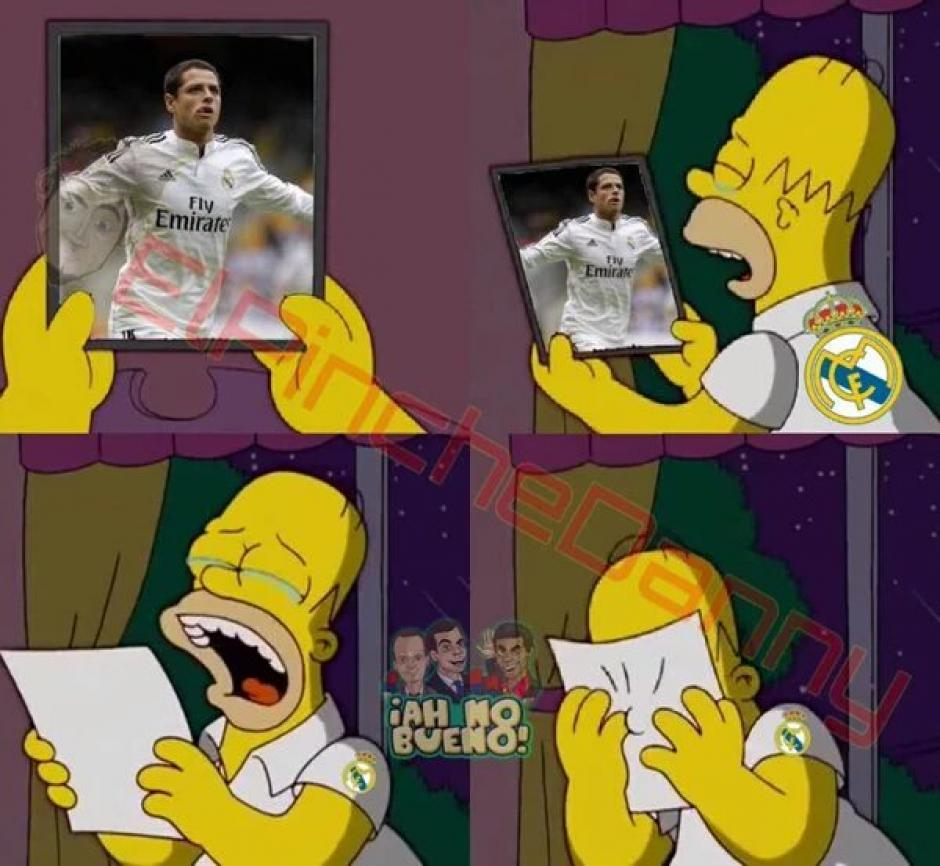 Todos los fans del Real Madrid en el clásico español. (Foto: Twitter/@SoloFutbolMemes)