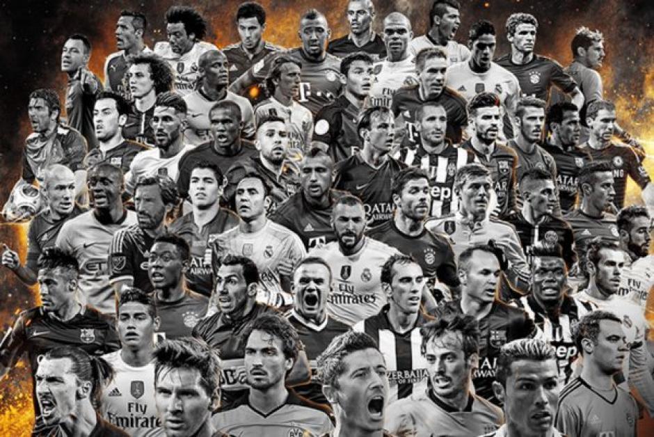 Fifpro 2015 los 55 seleccionados foto
